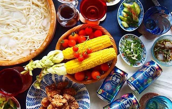 「#藍のある食卓」で残暑を涼やかに愉しんでみませんか?