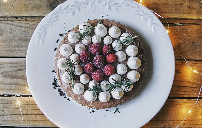 ヌテラで簡単チョコ風味。オーブンいらずの濃厚チーズケーキ