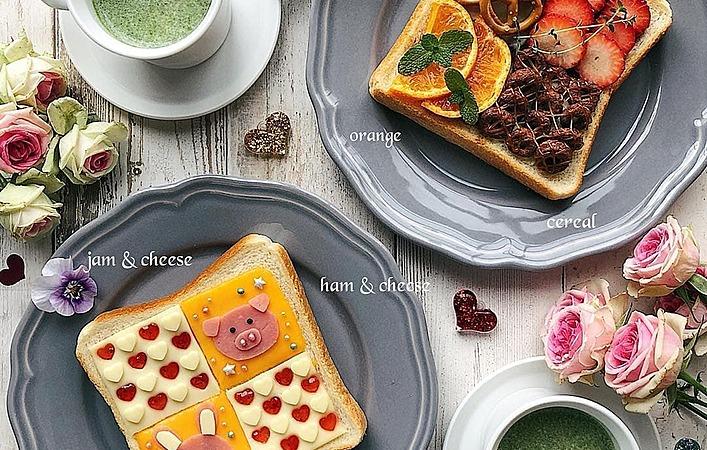 トースト1枚でおいしさ4倍!「よくばりオープンサンド」で満足朝ごパン