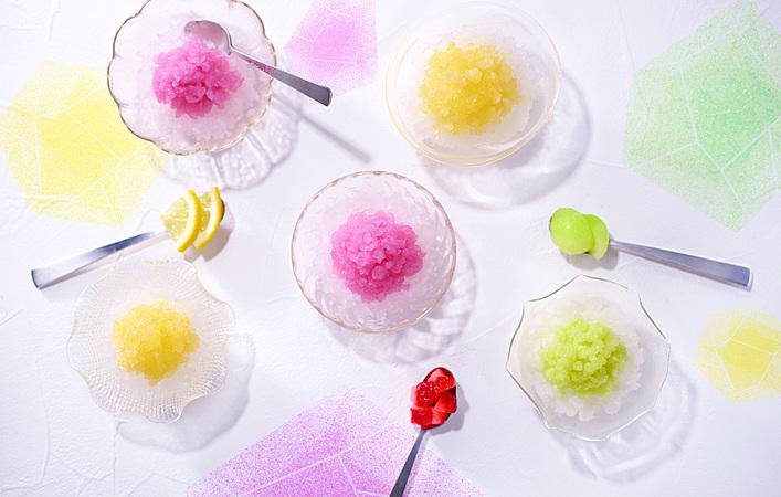 まるでかき氷!常温保存できるシャーベット「夏季の氷」がヨックモックから販売開始