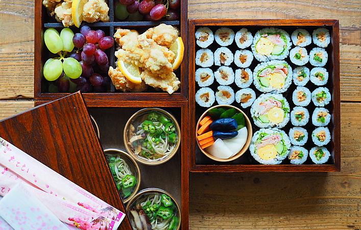 待ちに待った運動会!3世代楽しめる巻き寿司運動会弁当で子どもを応援しよう!