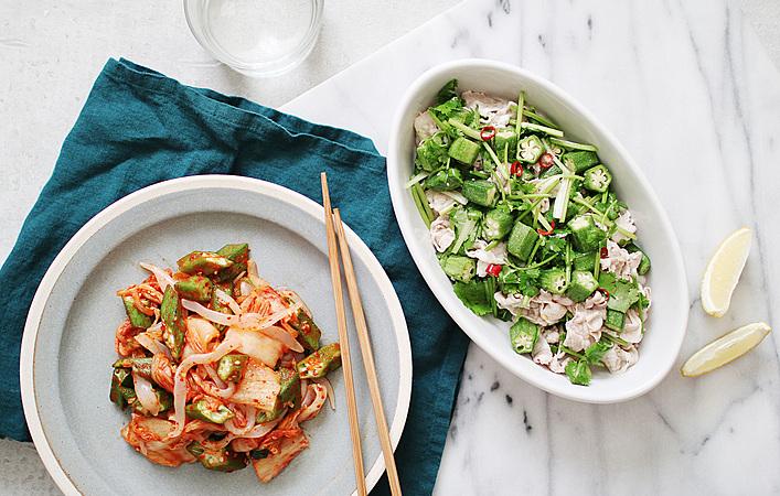 【うちベジ】Vol.10 ネバネバ食材の代表野菜。オクラを食べよう!