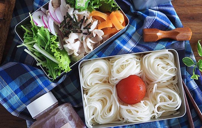 暑い日につるんと食べたい!「日の丸そうめん弁当」の作り方