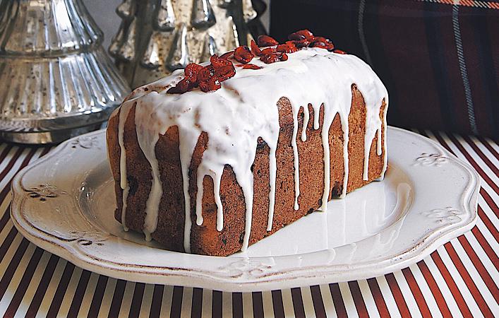 クリスマスが待ち遠しくなる。「アメリカンベーキング」スタイルのクリスマスケーキ