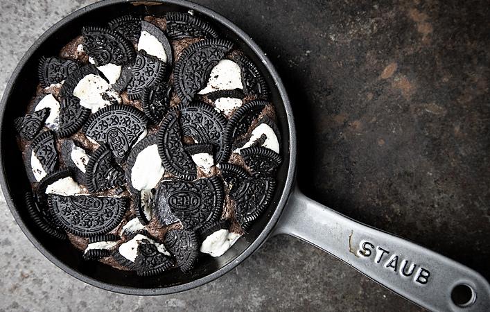 ちょっと余った食材を有効活用。スキレット&オーブンで簡単絶品スイーツ