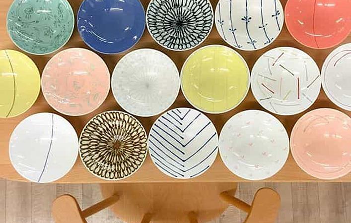 使い勝手抜群!思わずコレクションしたくなる、白山陶器の平茶碗