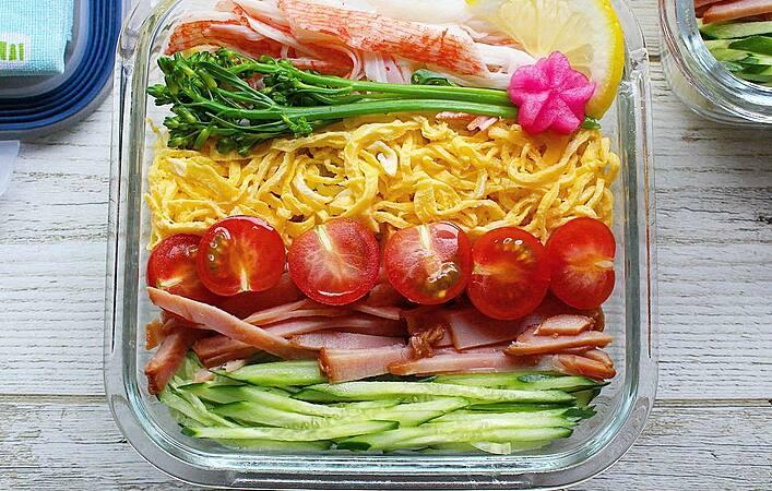 簡単に作れてアッサリ食べられる!夏は冷たい麺弁当がちょうどいい