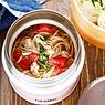 暑い日にも大活躍!冷し中華からひんやりスイーツまで、夏のスープジャー弁当10選
