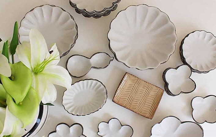 食卓を華やかに彩る、人気のおしゃれ和食器「輪花皿」の作家さん情報