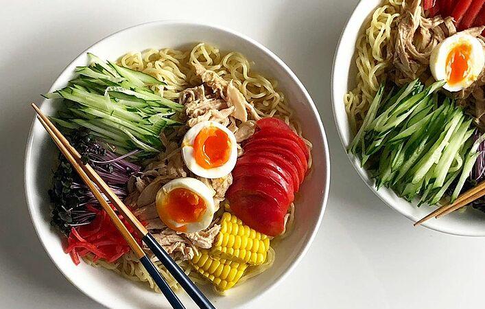 冷たい麺で涼を感じる「#麺で涼む葉月」投稿キャンペーン開催