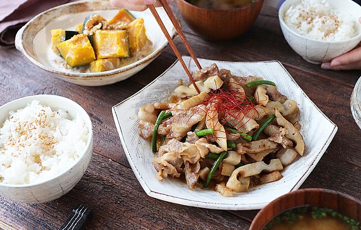 【ふたりで作るおしゃべりごはん】シャキシャキホクホクの根菜レシピで秋を感じる!