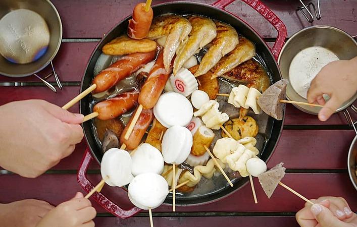 ホムパやキャンプが楽しくなる!この冬作ってみたい、ほっこりおいしい串おでん7選