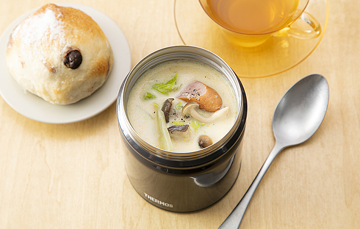 冬はあったかスープジャー弁当がおすすめ。簡単おいしいレシピを紹介