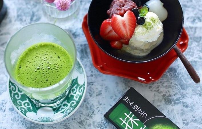 春の初めにお抹茶はいかがですか?お湯を注ぐだけで本格抹茶を愉しめる<抹茶一服>