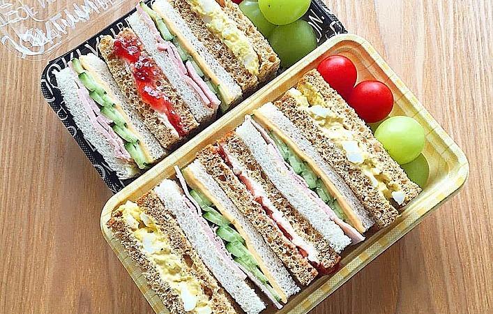 あなたは定番サンドイッチ?人気のわんぱくサンド?みんな大好きサンドイッチ弁当
