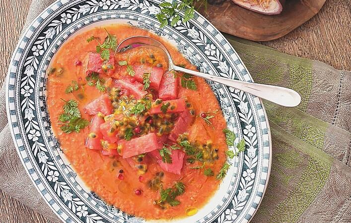 暑い夏に飲みたい!ちょっと酸っぱくて爽やかな冷製スープ・ガスパチョ9選