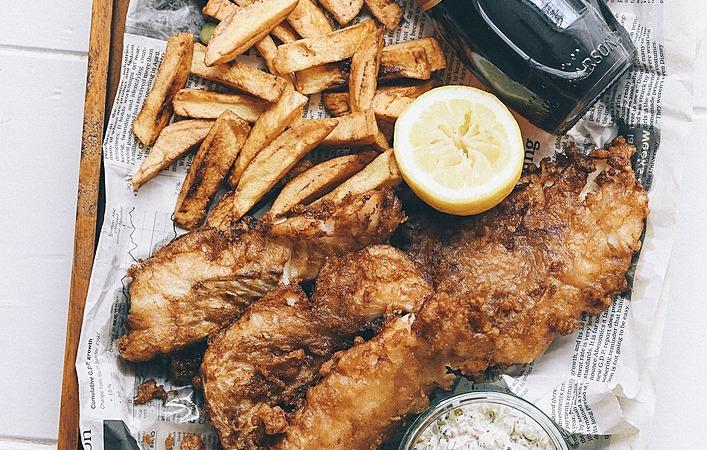 【おうちde英国ごはん】イギリスの国民食「フィッシュ アンド チップス」