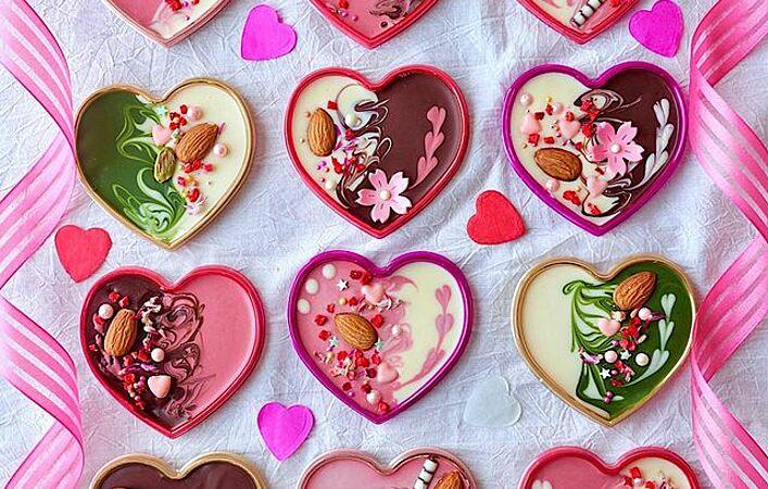 バレンタインにおすすめ!華やかなのに簡単でかわいい「マンディアン」を作ろう