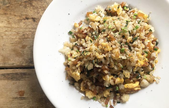 【ちゃみのおうち和ごはん】炒飯の概念が変わる⁉どハマり必須の「奈良漬け炒飯」