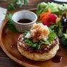 【あゆの簡単スポ飯】和風おろしでさっぱり「鶏ひきハンバーグ」で体脂肪ダウン!