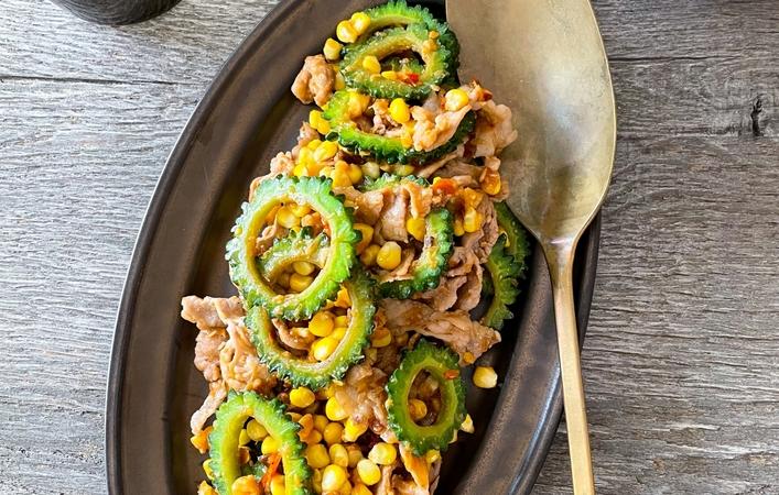 【からだケアレシピ】夏バテ予防に!「豚肉と夏野菜の辛みそ炒め」