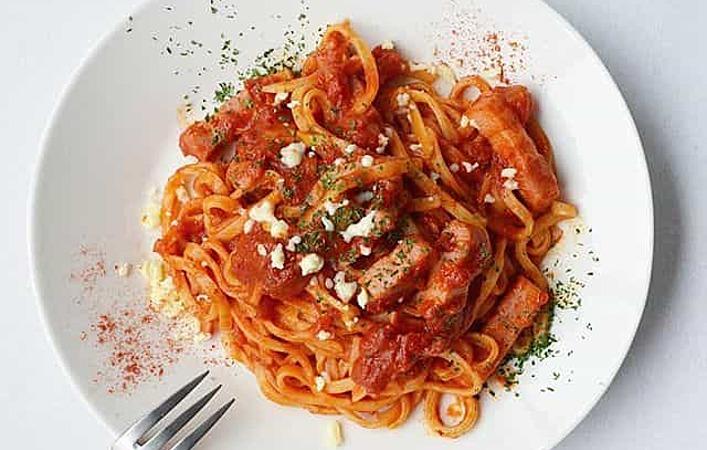 イタリア復興支援の鍵、トマトソースパスタ「 アマトリチャーナ 」について知ろう