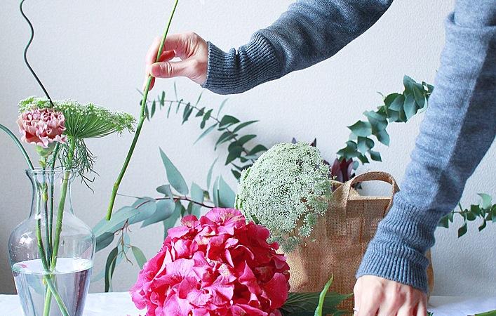 """ココロを和ませてくれる、""""花と緑""""のある暮らしの上手な楽しみ方"""