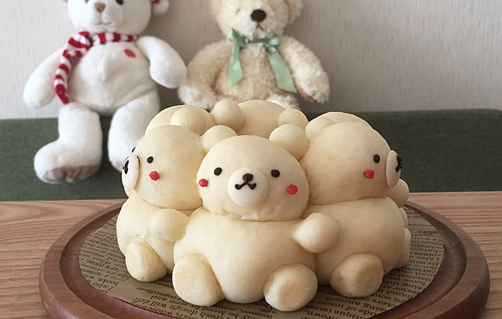 ぬいぐるみ?作って楽しい、食べて美味しい #3Dちぎりパン って何?