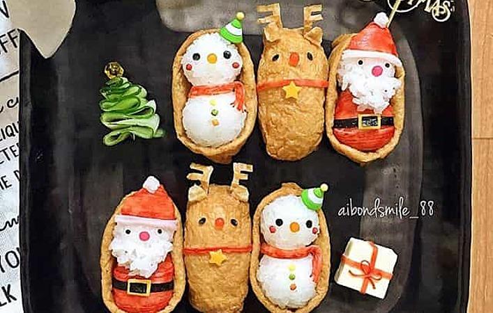 お弁当も大盛り上がり!初心者にもおすすめ「クリスマス弁当」のデコアレンジ6選