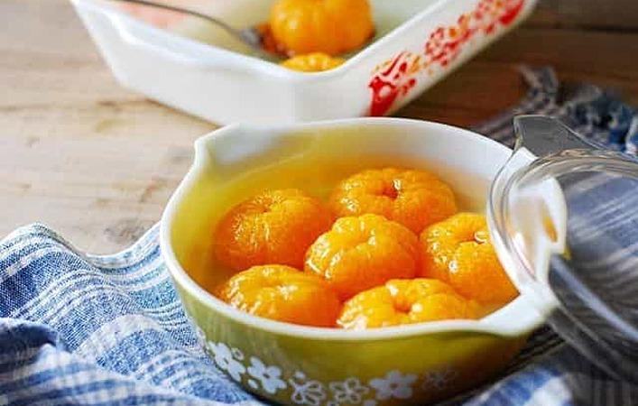 余ったみかんを美味しく食べきる!丸ごとみかんのコンポートの作り方とアレンジ術