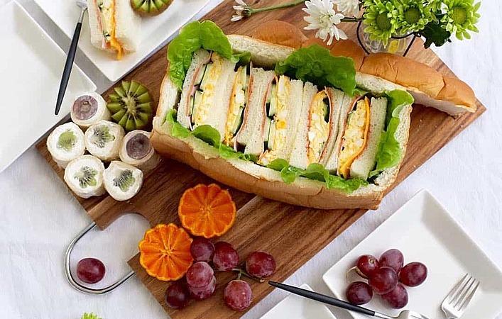 サンドイッチが更におしゃれに!「シュープリーズパン」で食パン丸ごと召し上がれ!