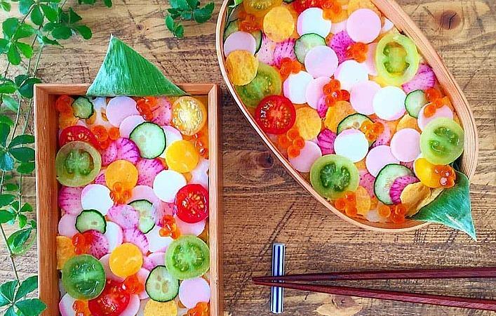 いざ、水玉の世界へ!「水玉ちらし寿司」の人気が急上昇中なんです!