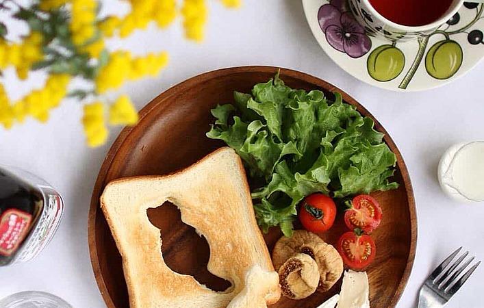 猫にハリネズミ… #型抜きトースト で子供も喜ぶパンアレンジ!
