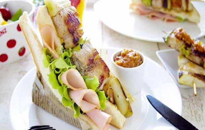 アイデアいろいろ!日本の食材でつくるご当地ハムぱくサンド大集合!