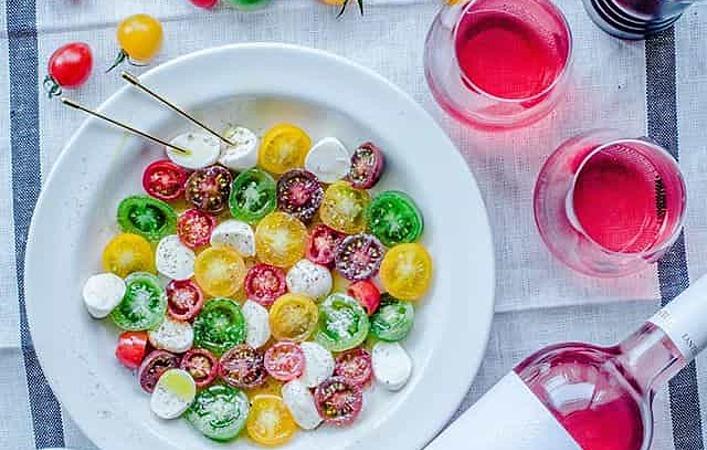 カラフルトマトを使った「水玉カプレーゼ」が簡単おしゃれで夏のホムパにぴったり!