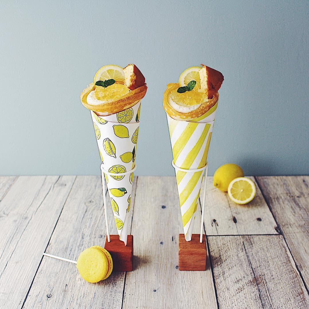 ビタミンカラーで爽やかに。レモンづくしクレープ