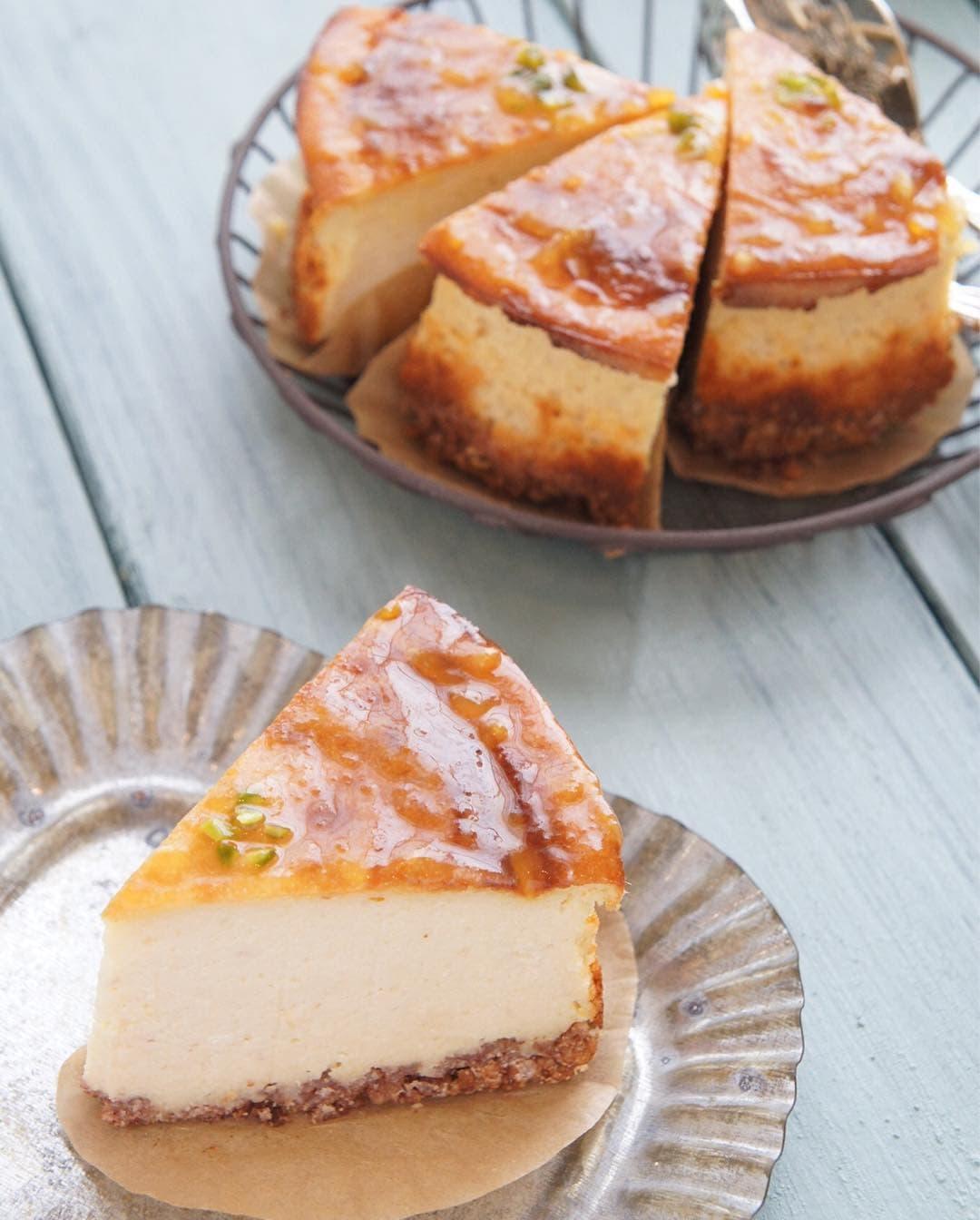 ずっしりおからのチーズケーキ